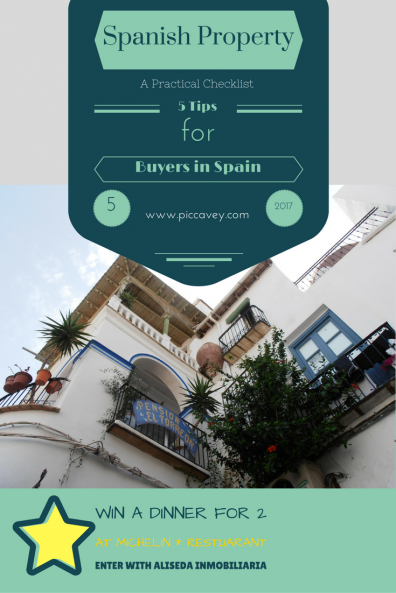 Spanish Property Checklist