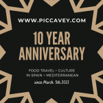 A blog about Spain - 10 Year Anniversary of Piccavey.com