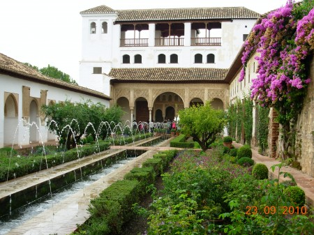 9 x Generalife Summer palace