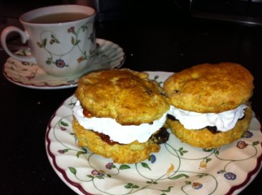 Scones in England - Hmm