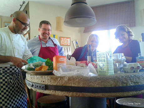 Cook off in Tarifa Toma Tours