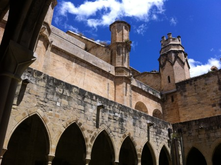 12th Century Tortosa Cathedral in Terres del Ebre Spain