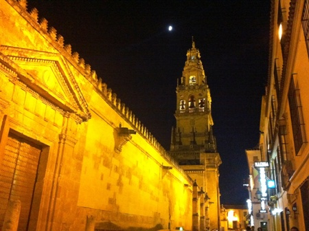 Mezquita Cordoba Nightime