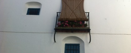 Typical Shutter in Cordoba Andalusia