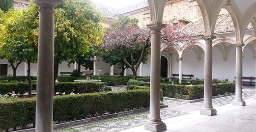 Cartuja Monastery in Granada Spain by piccavey January 2014