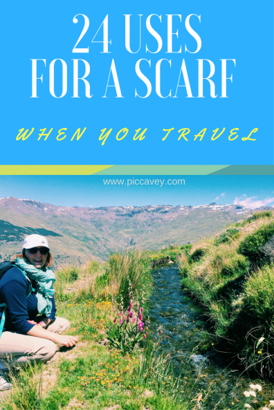 packing tips scarf travel