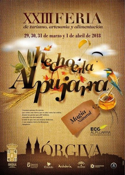 Orgiva Made in the Alpujarra Local Fair Easter
