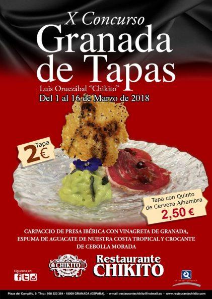 Granada de Tapas Chikito Spanish Food