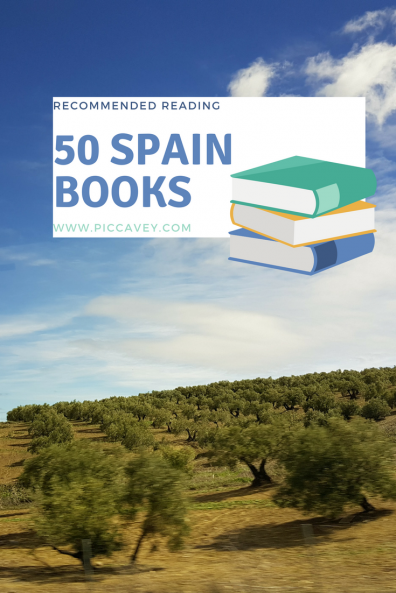 50 Spain Books by piccavey