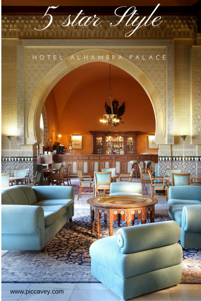 5 star Hotel Alhambra Palace Lobby Granada