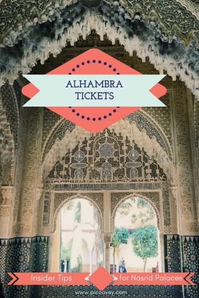 skip line Alhambra tickets Granada Spain