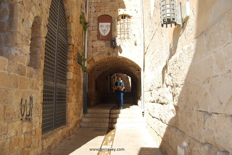 Acre Israel Streets of Akko