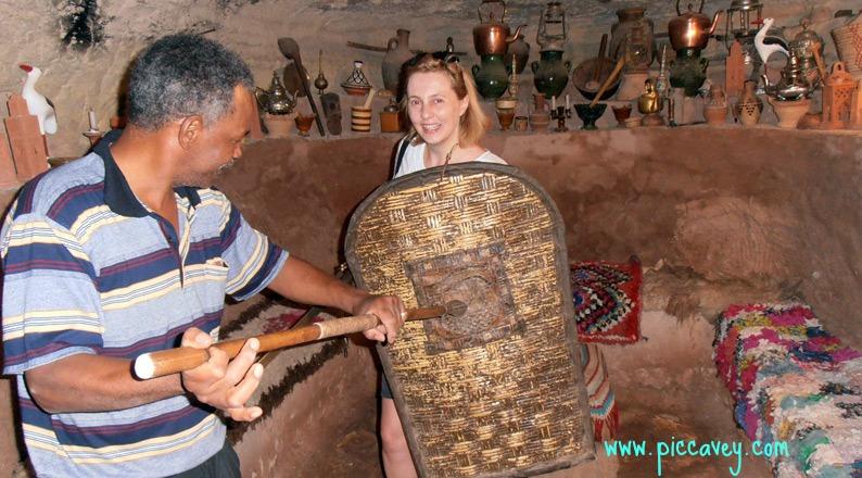 Scenes from Gladiator Ait Benhaddou Morocco