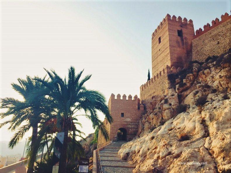 Alcazaba Fortress Almeria Spain
