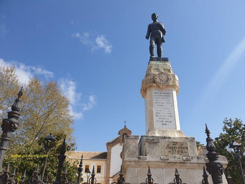 Alfonso XII Alhama de Granada Earthquake