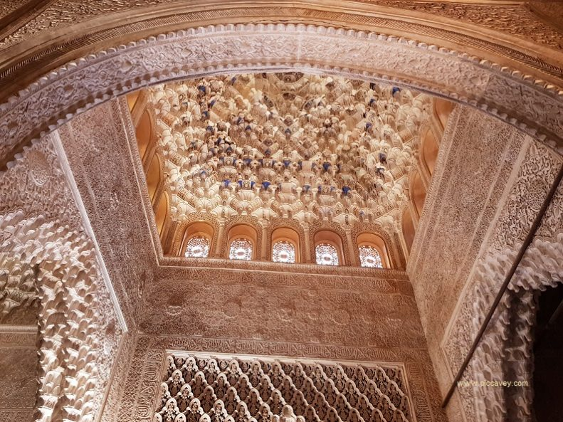 The Alhambra Palace Walls Spain Blog