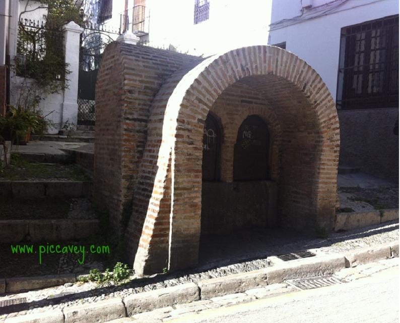 Aljibe in Albaicin Granada Spain