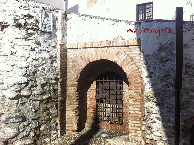Typical Aljibes in Granada Spain