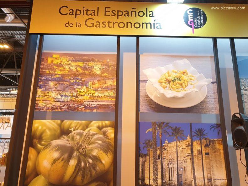 Almeria 2019 Capital gastronomica Spanish food