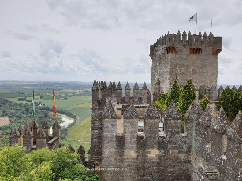Almodovar del Rio Castle in Cordoba