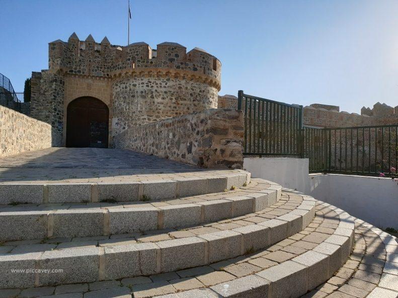 Almuñecar Castle in Spain