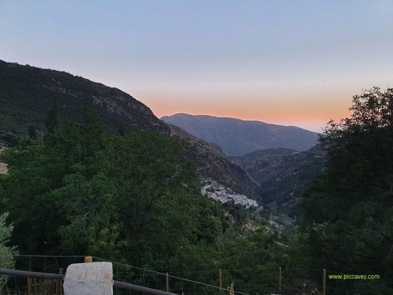 Alpujarra sunset