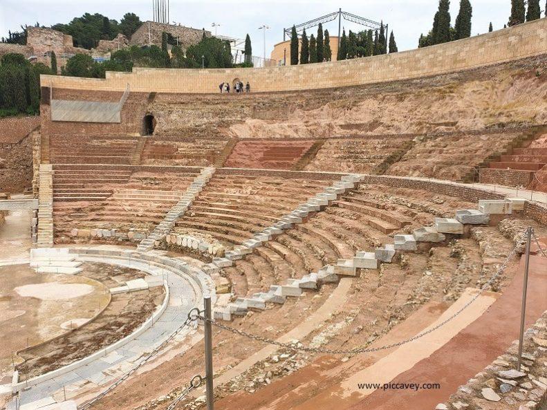 Amphitheatre Cartagena Murcia