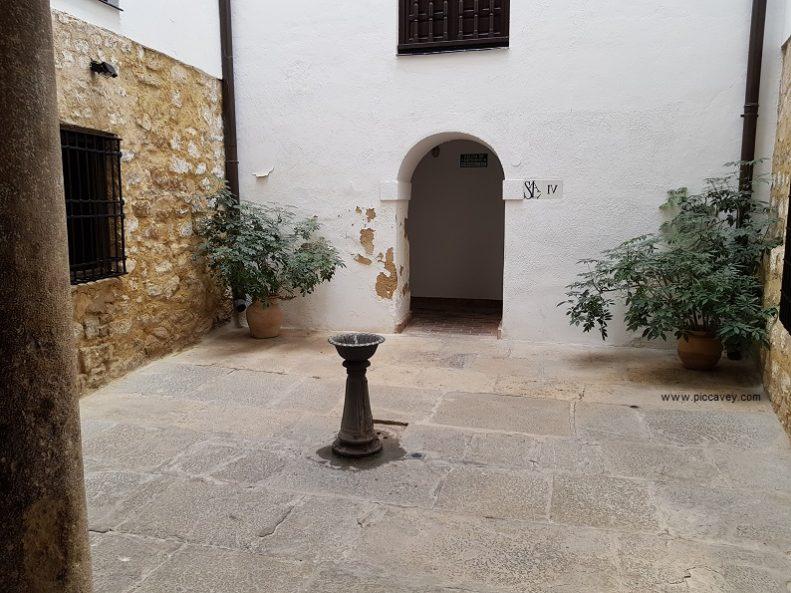 Arab Baths in Jaen Palacio de Villardompardo
