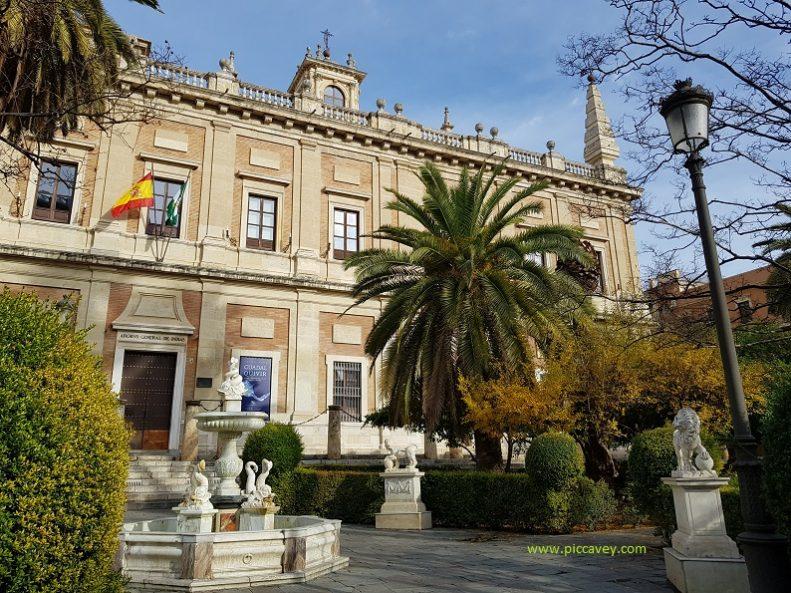 Archivo General de las Indias Sevilla