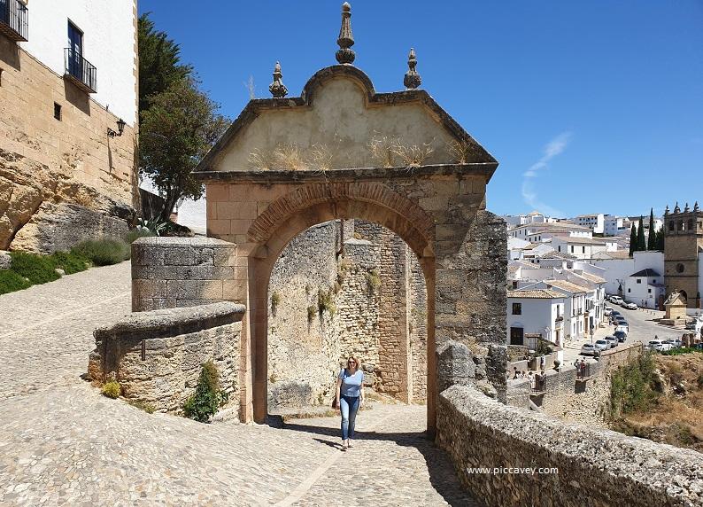Arco Felipe V Ronda Spain