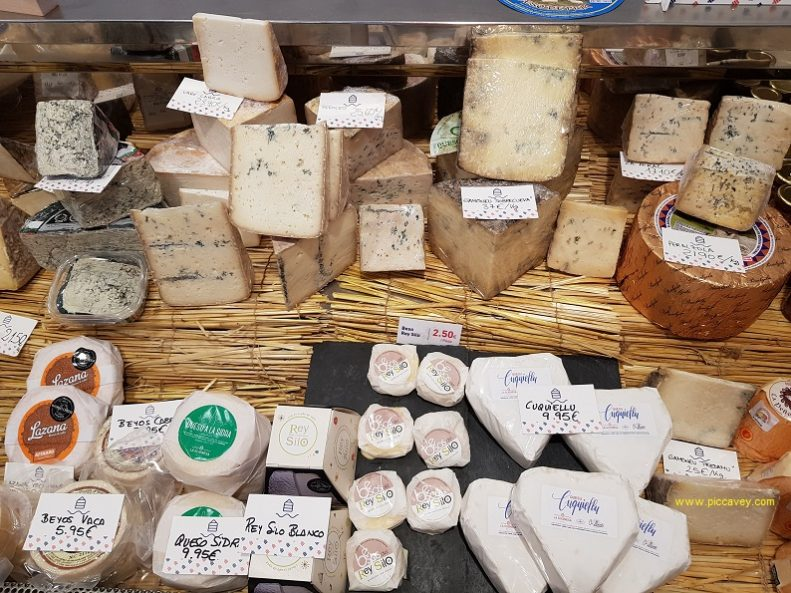 Asturian Cheese Selection La Gijonesa Eat in Gijon Spain