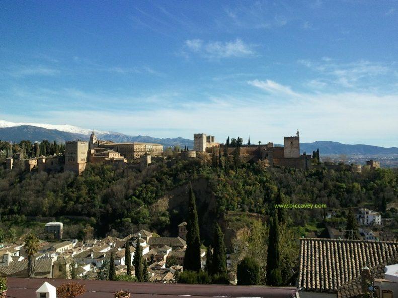 Autumn in Granada Spain Alhambra