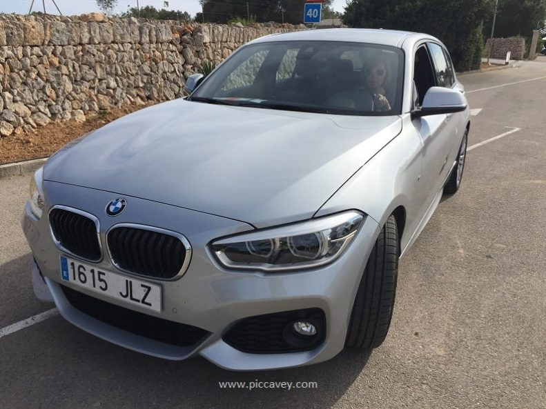 BMW Rental Car Spanish Road Trip