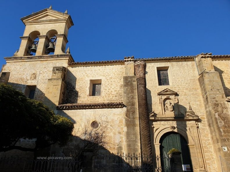 Baeza Jaen Spain Iglesia San Pablo Church