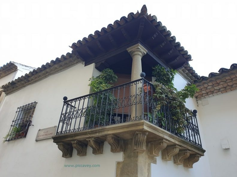 Balcony in Baeza Spain