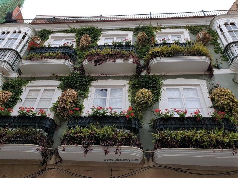 Balcony in Cartagena Murcia Spain