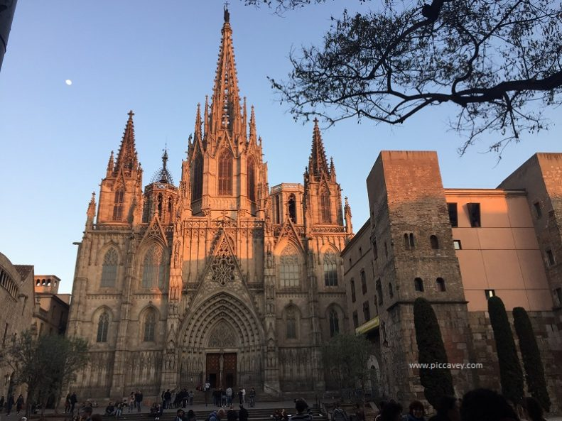 Barcelona Cathedral Spain.