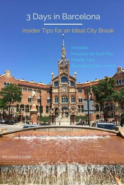 Barcelona City Break tips