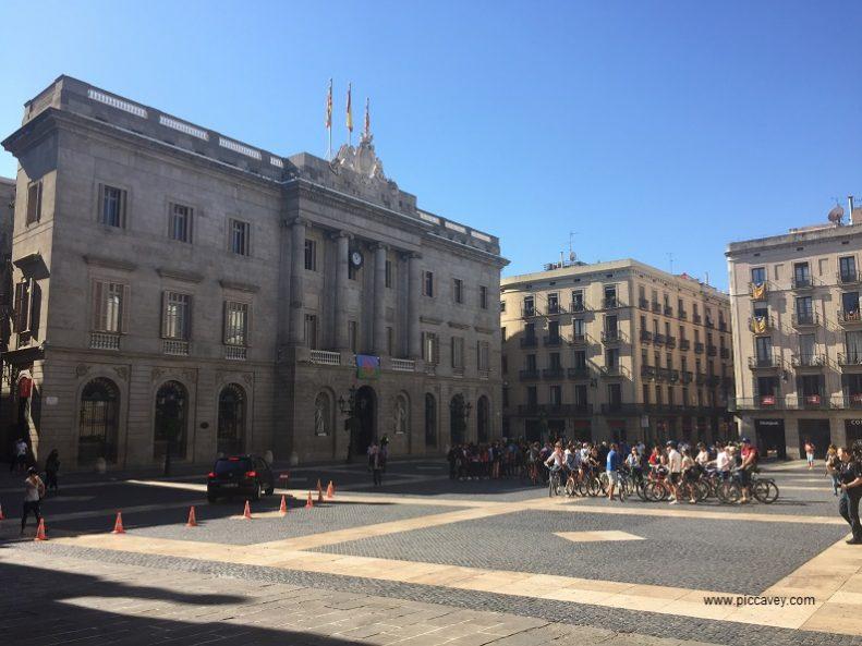 Barcelona Plaza Sant Jaume