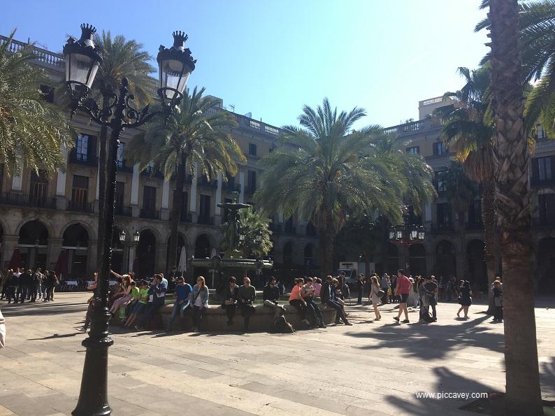 Plaza Reial Barcelona