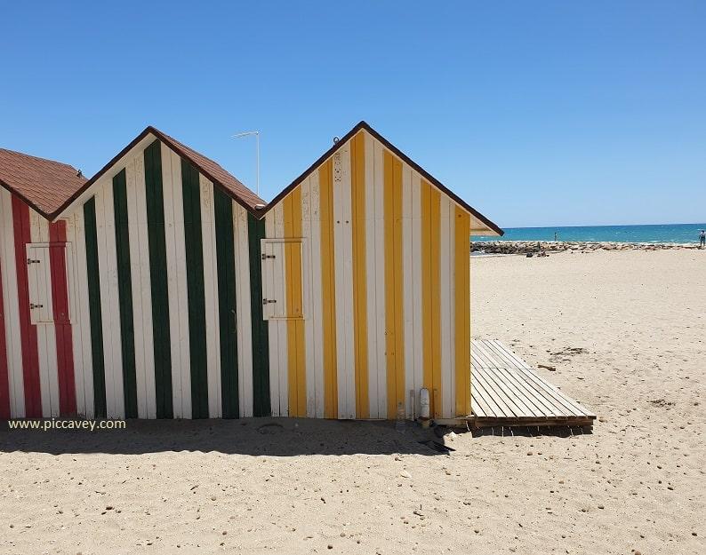 Beach Huts in El Campello Spain