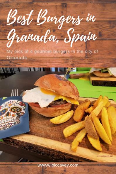Best Burgers in Granada