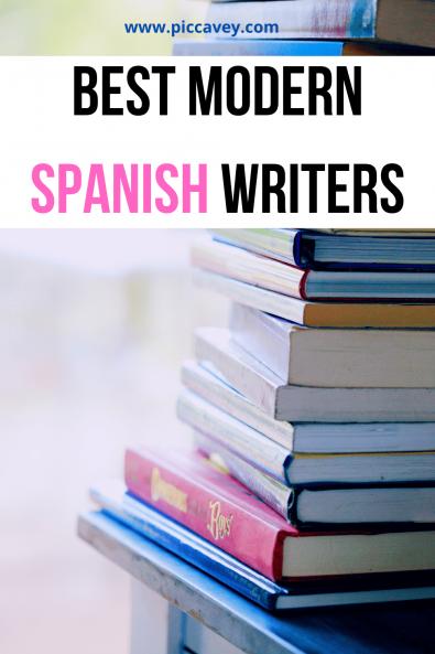 Best Modern Spanish Writers