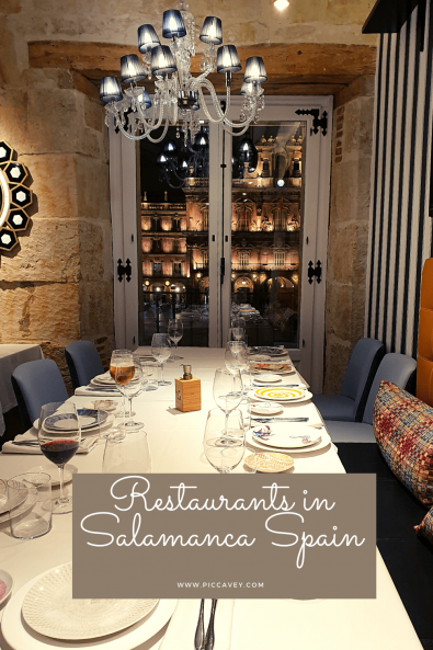 Best Restaurants in Salamanca