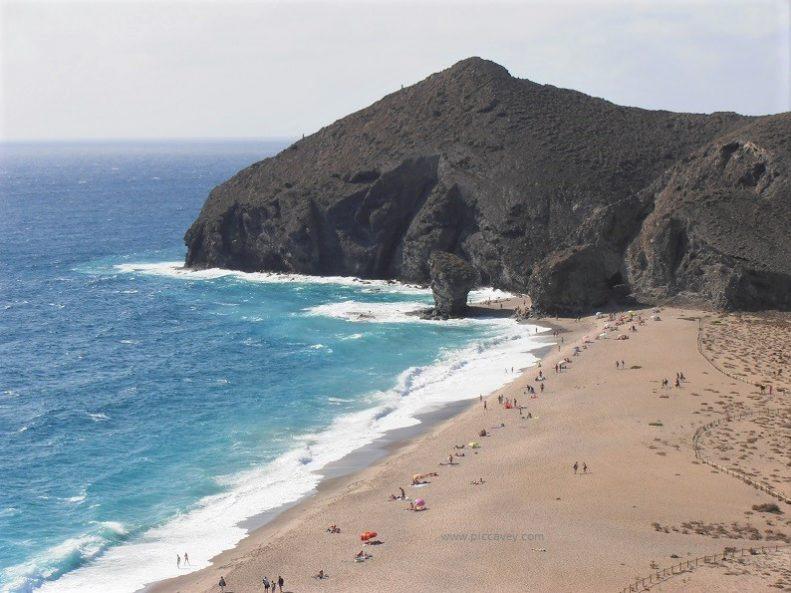 Best Spanish Beaches Los Muertos Almeria
