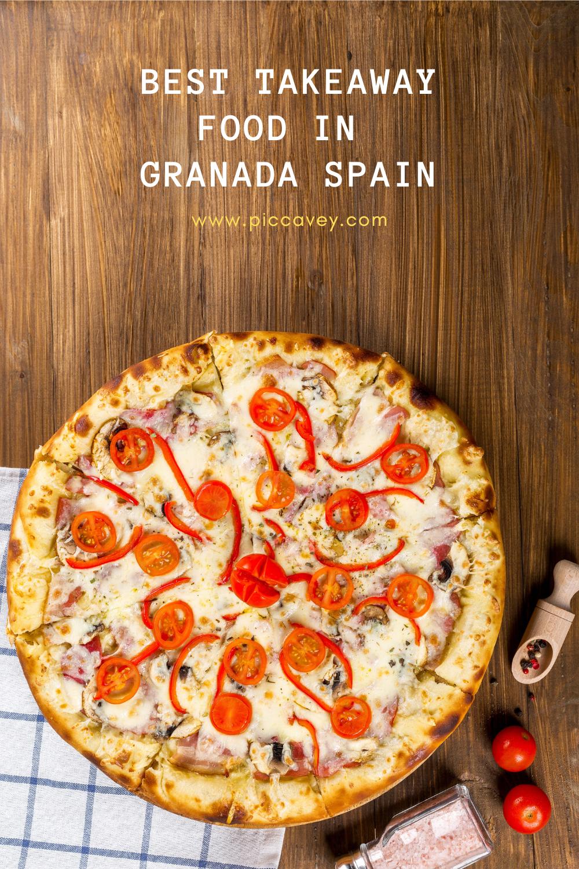 Best Takeaway Home Delivery Food in Granada Spain