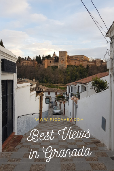 Best Views in Granada Mirador + Sunset Spots