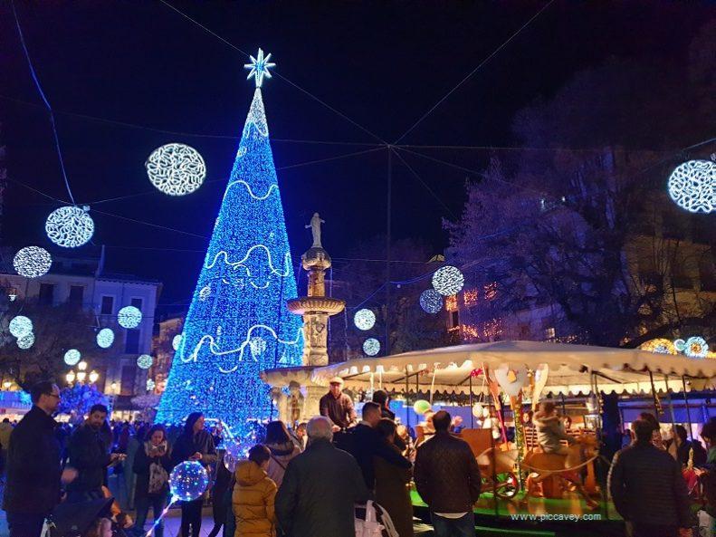 Bib Rambla Granada Christmas Scene