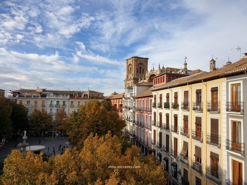 Bib Rambla Square Granada Spain