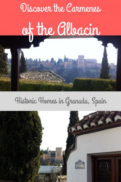 Carmen in Granada Spain